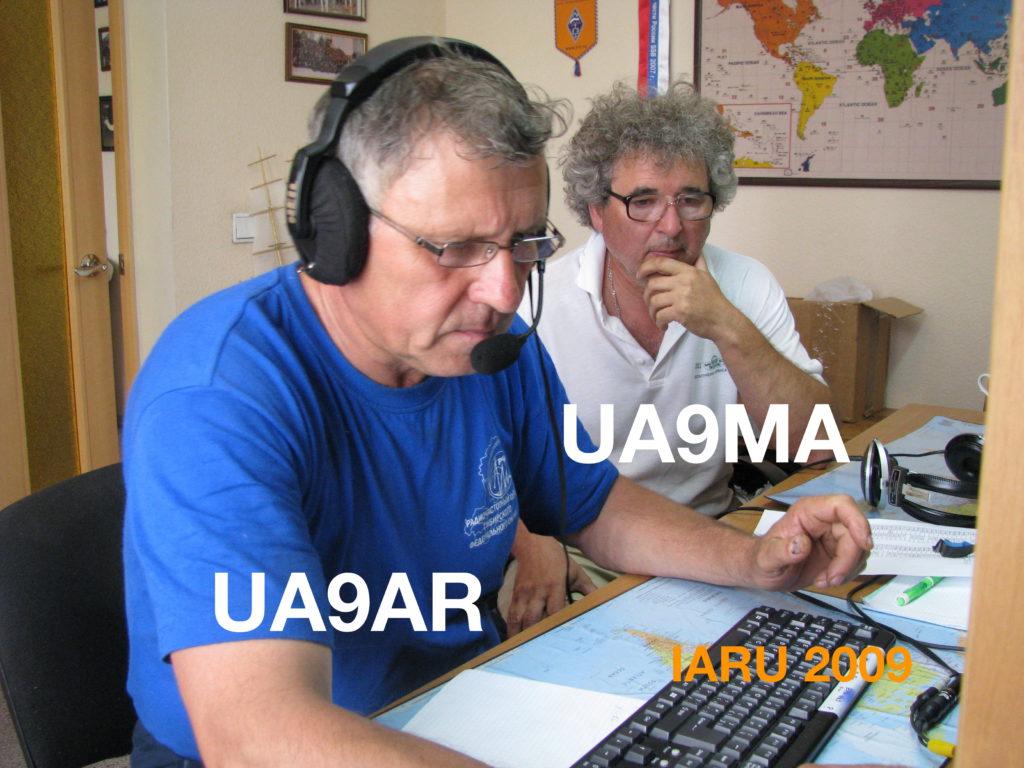 UA9AR, UA9MA